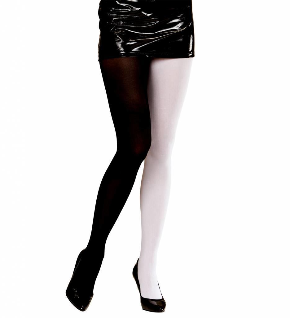 Panty Meerkleurig Zwart/Wit