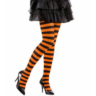 Panty Gestreept Oranje/Zwart