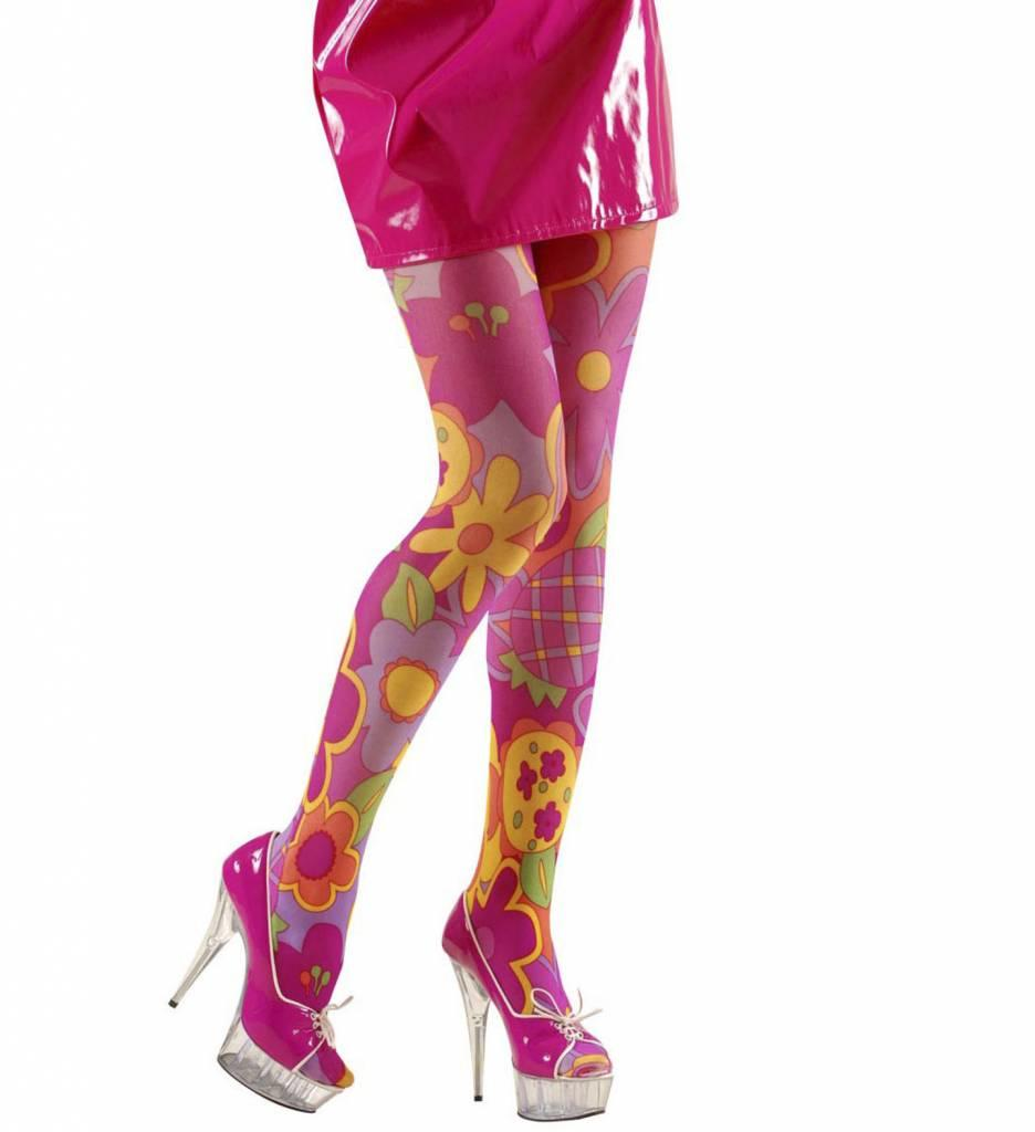 Panty Flower Power Roze