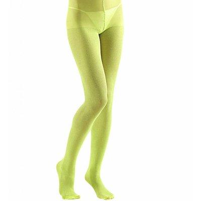 Panty 40Den Glitter Limoen