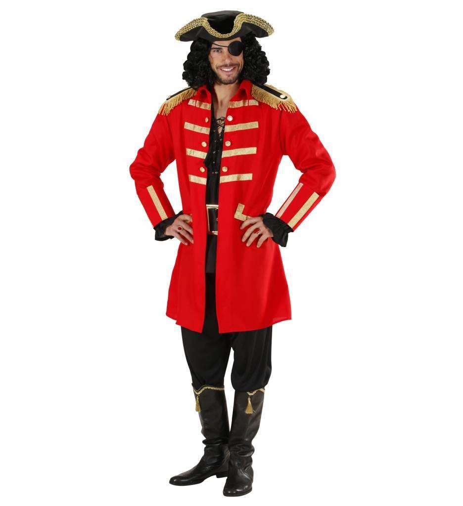 Rode Piraat/Kapitein
