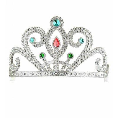 Prinsessenkroon Zilver Met Diamanten Zilver