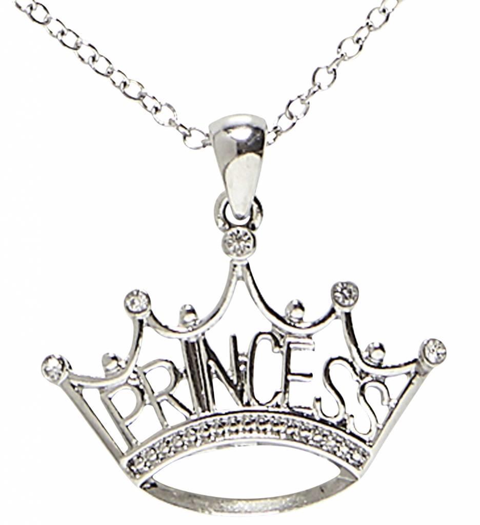 Ketting Met Prinsessen Kroon