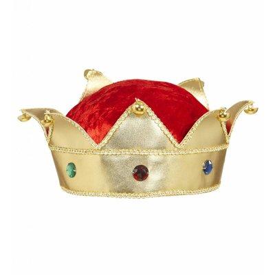Kroon Koning Met Edelstenen