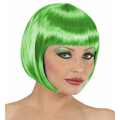 Pruik Boblijn Groen