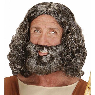 Pruik Bijbels Figuur Met Baard