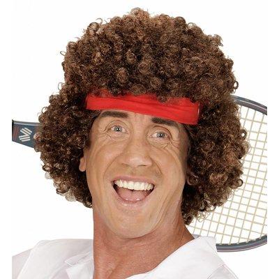 Pruik Tennis Speler