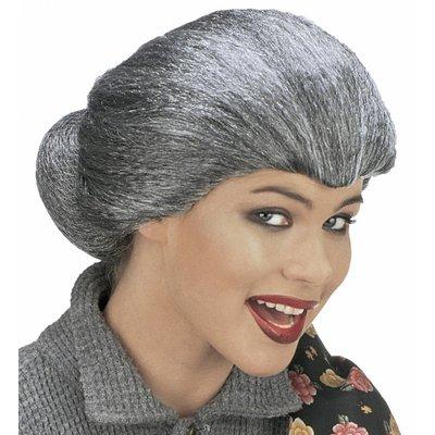 Pruik Tante Maria (In Plastic Zak)