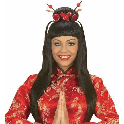 Pruik China Girl (In Plastic Doos)
