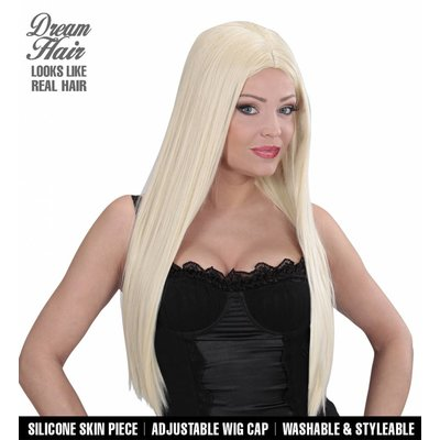 Pruik Droomhaar Charlene Blond