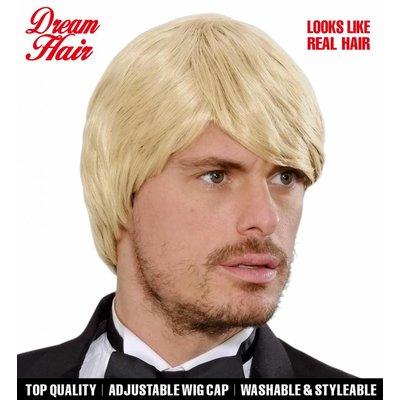 Pruik Droomhaar Simon Blond