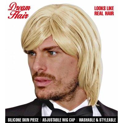 Pruik Droomhaar Bjorn Blond