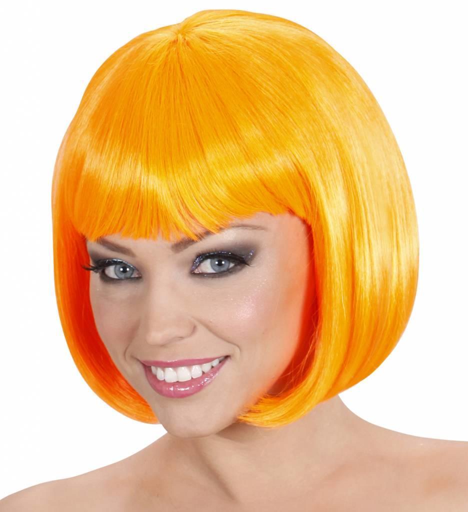Pruik Lovely Oranje