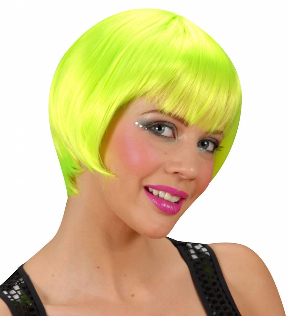 Pruik Rave Neon Groen