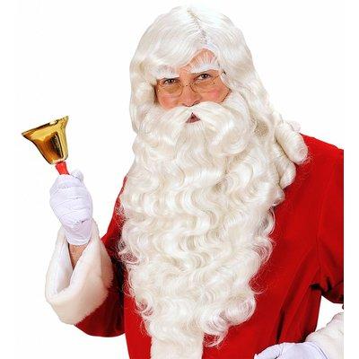 Pruik Kerstman Met Baard/Snor/Wenkbrauwen