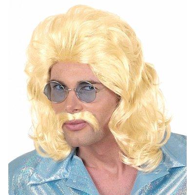 Pruik 70'S Man Blond