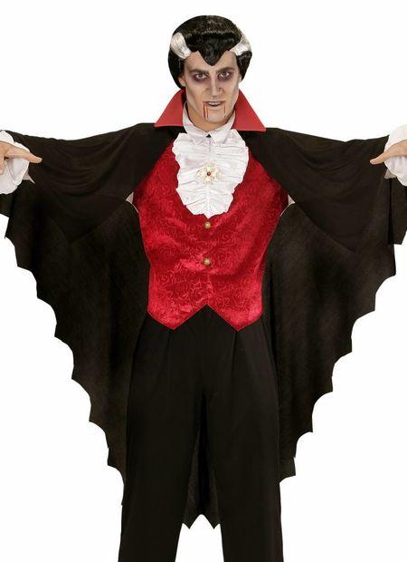 Vampier cape volwassen