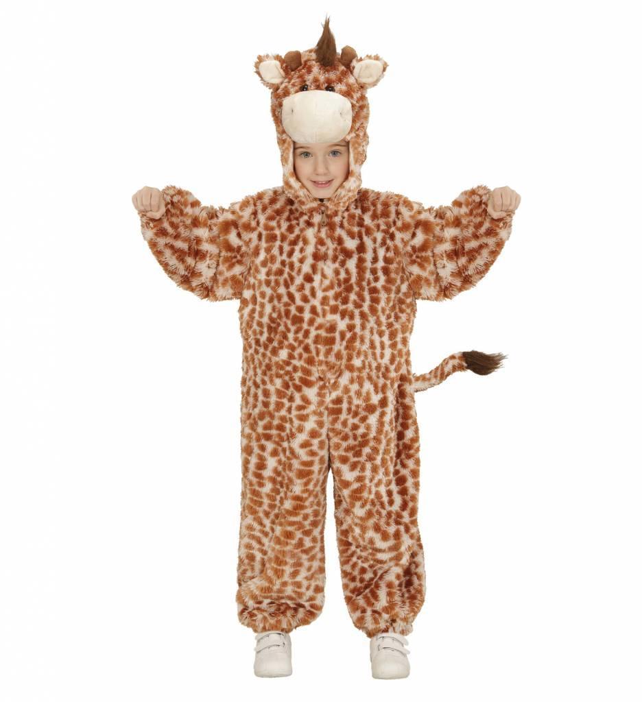 Jumpsuit Giraffe Met Kap En Masker
