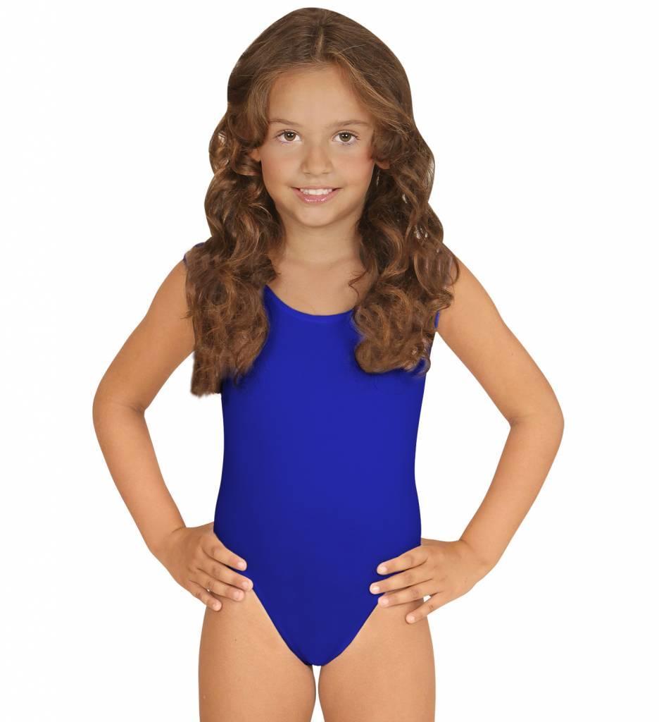 Mouwloze Body Blauw