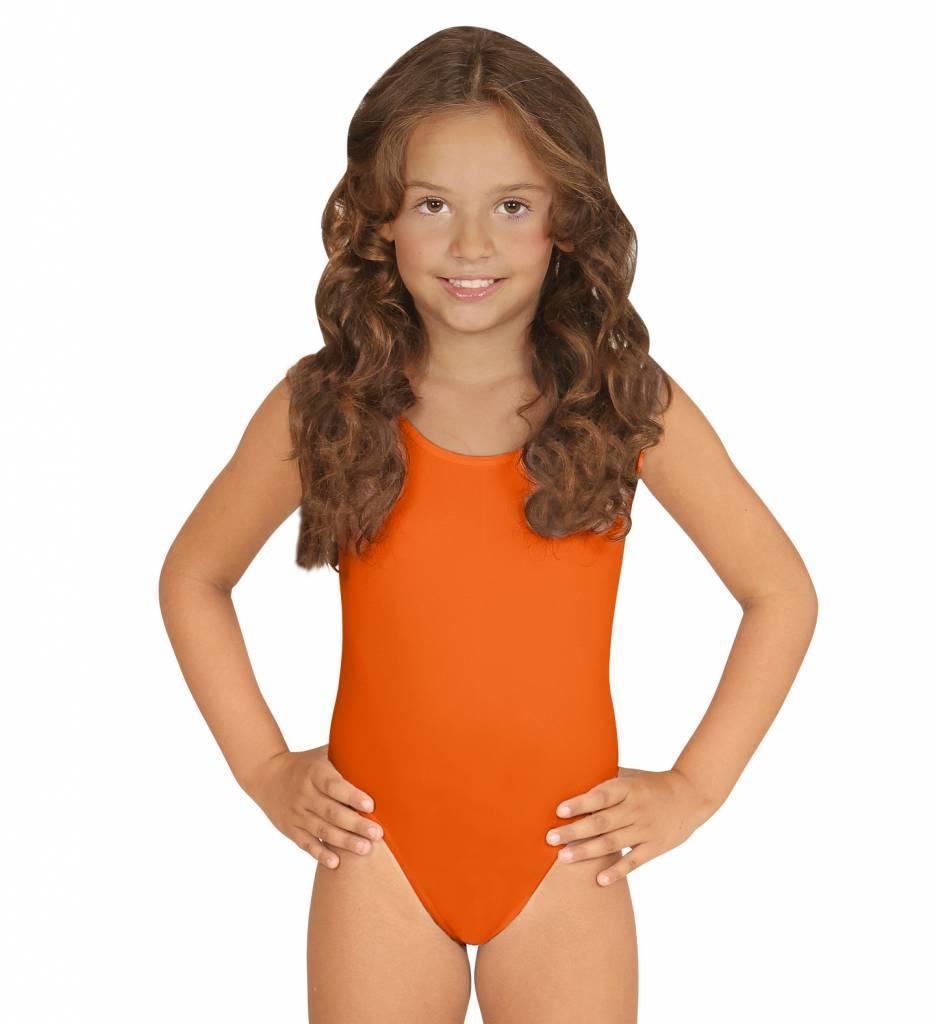 Mouwloze Body Oranje