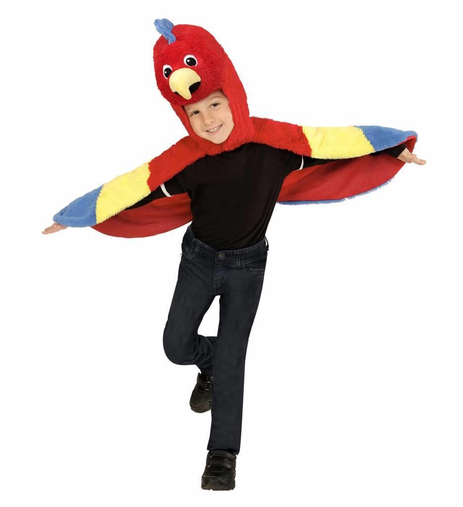 Pluche Papegaai Kostuum