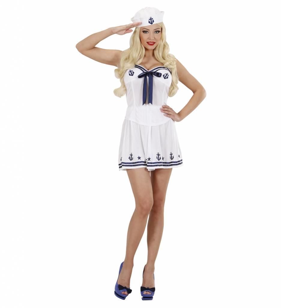 Marine Meisje Blauw/Wit