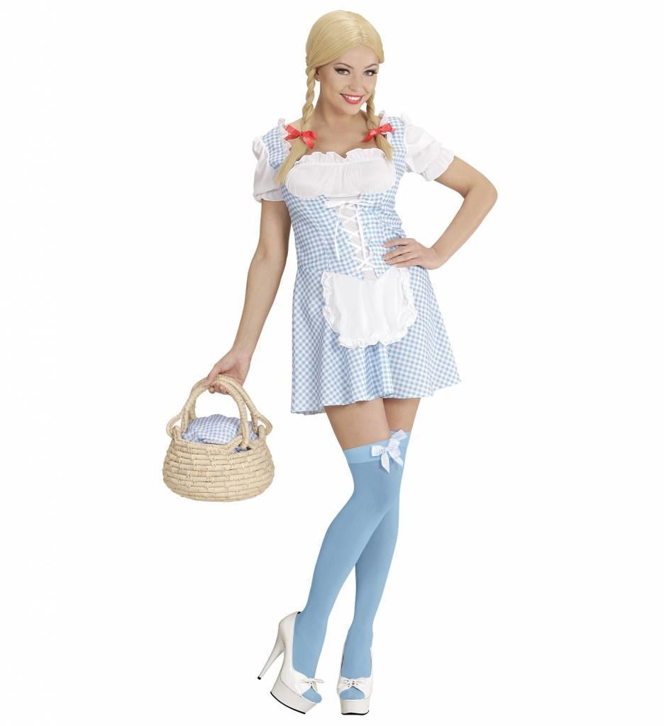 Tiroler Jurkje Miss Muffet Lichtblauw