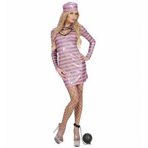 Sexy Gevangene Zwart/Roze