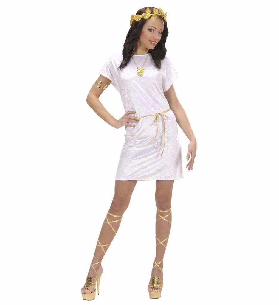 Tuniek Wit Met Gouden Riem