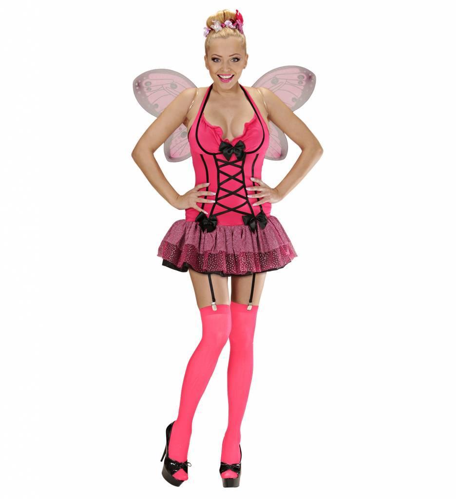 Vlinder Roze