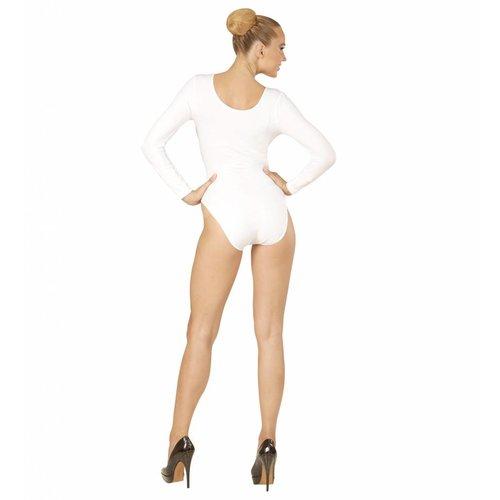 Widmann Body Volwassen Met Knoopsluiting Wit