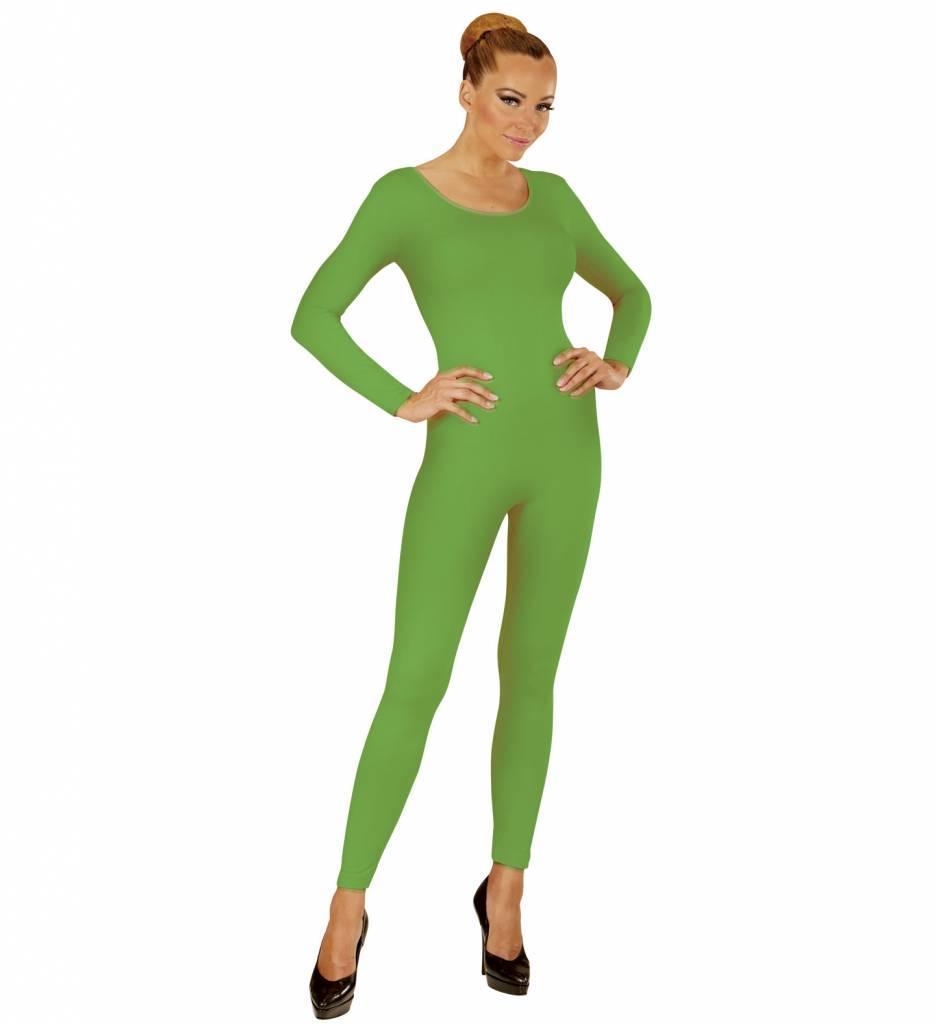 Body Volwassen Lang Groen