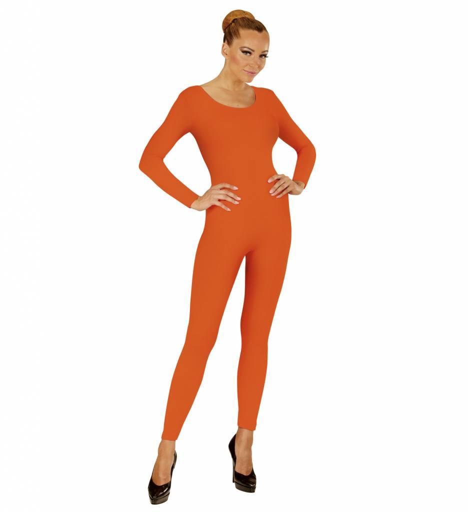 Body Volwassen Lang Oranje