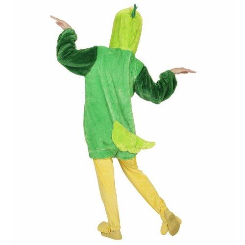 Widmann Pluche Groene Vogel Kostuum