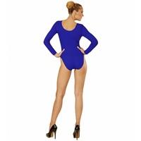 Widmann Body Volwassen Met Knoopsluiting Blauw