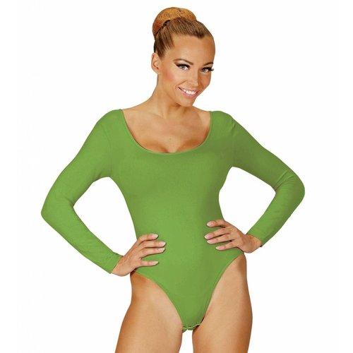 Widmann Body Volwassen Met Knoopsluiting Groen