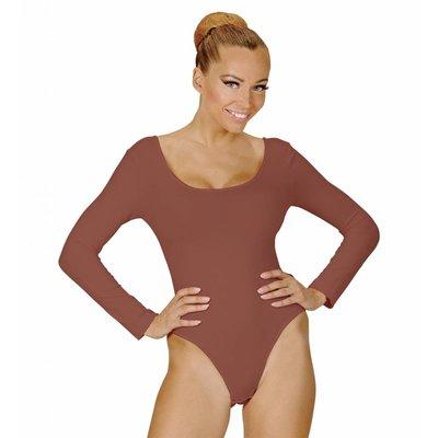 Body Volwassen Met Knoopsluiting Lichaamskleur