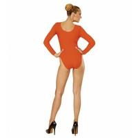 Widmann Body Volwassen Met Knoopsluiting Oranje