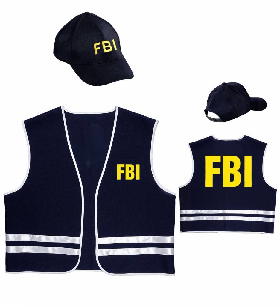 Fbi Vest Met Cap