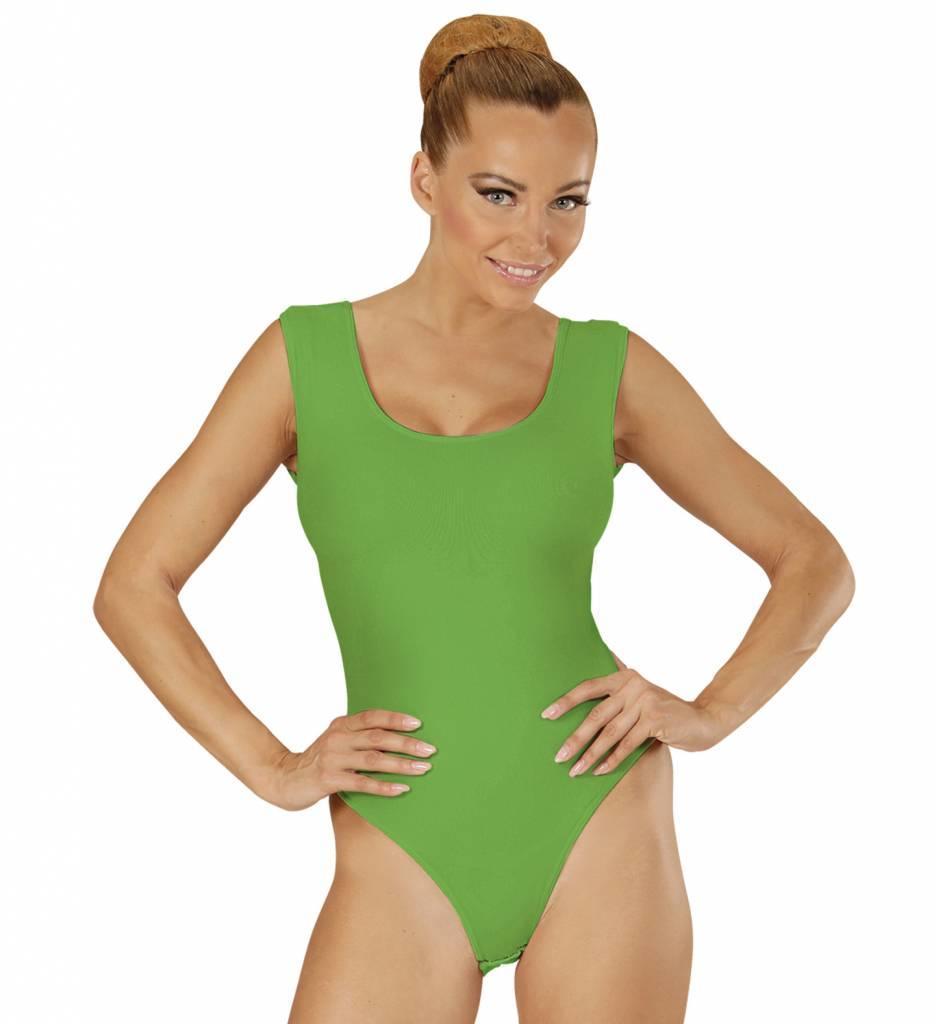 Mouwloze Body Volwassen Groen