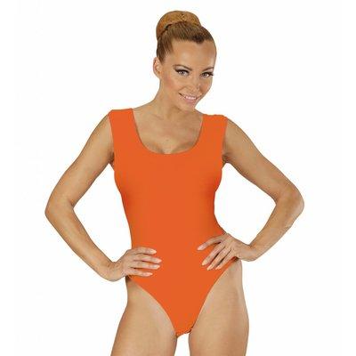 Mouwloze Body Volwassen Oranje