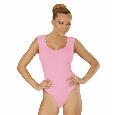 Mouwloze Body Volwassen Soft Roze