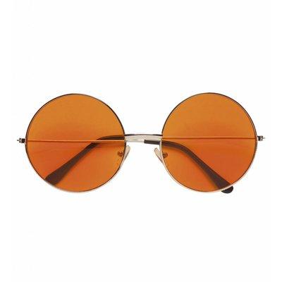 Bril 70'S Oranje Glas