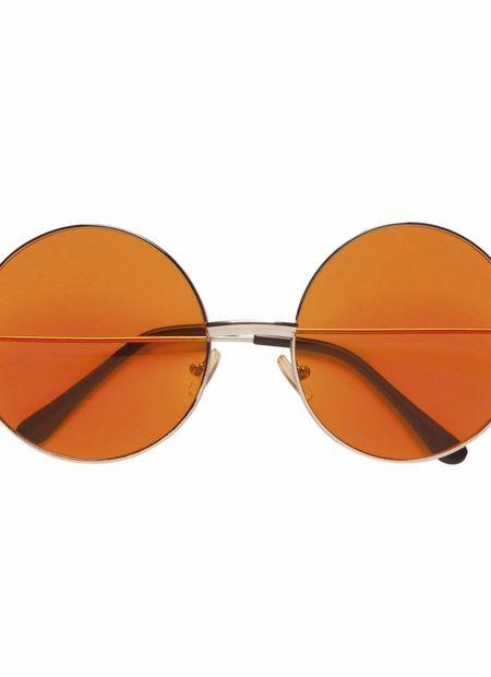 Bril, 70's oranje glas