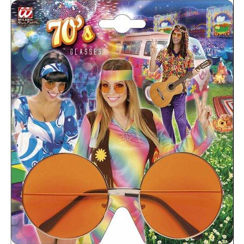 Widmann Bril 70'S Oranje Glas