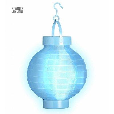 Lampion Met Licht 15 Blauw
