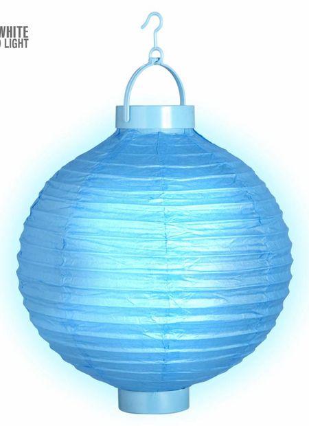 Lampion met licht 30, blauw