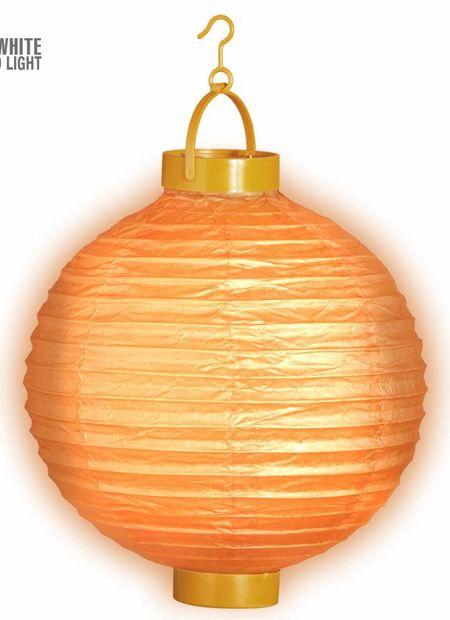 Lampion met licht 30, oranje
