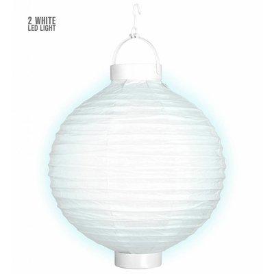 Lampion Met Licht 30 Wit