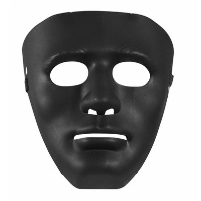 Masker Anonym Zwart